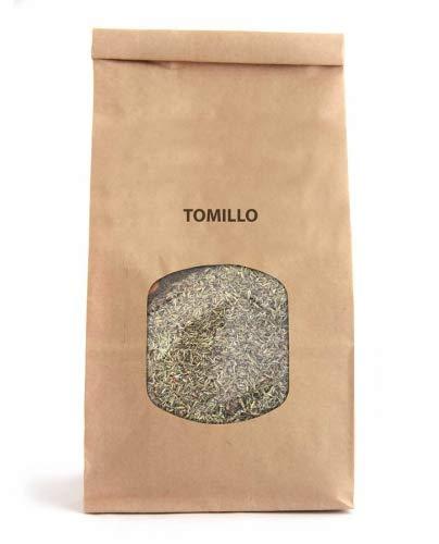 Hojas de Tomillo 100g Thymus Vulgaris para Infusiones y Tisanas