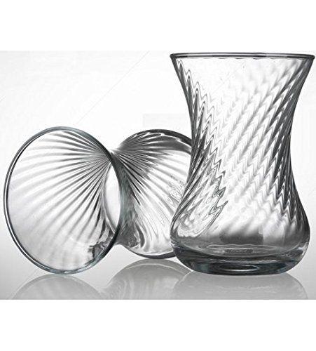 6 unidades vasos de té turco incebel aspecto 130 cc