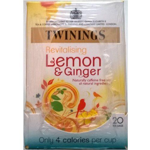 Twinings limón y jengibre Bolsitas de té – 4 x 20