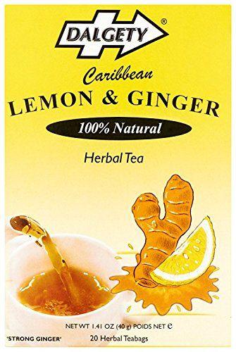 Dalgety Herbal Tea – 20 de limón y jengibre bolsa de té (PU = 6)
