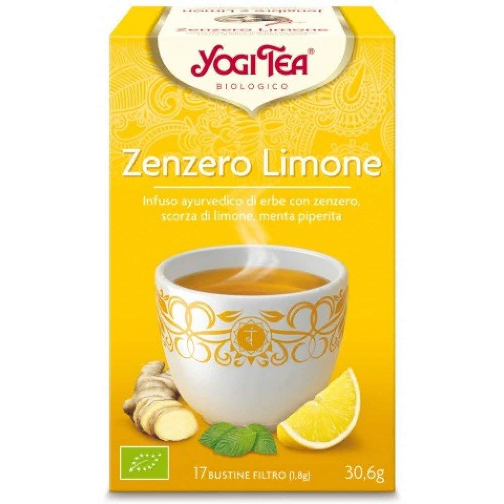 Yogi Tea Té Jengibre Limón – 17 unidades