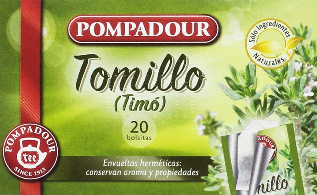 Té Infusion Tomillo – 20 bolsitas – [Pack de 5]