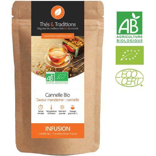 Thés & Traditions – La infusión de canela – bio mandarina | 100g