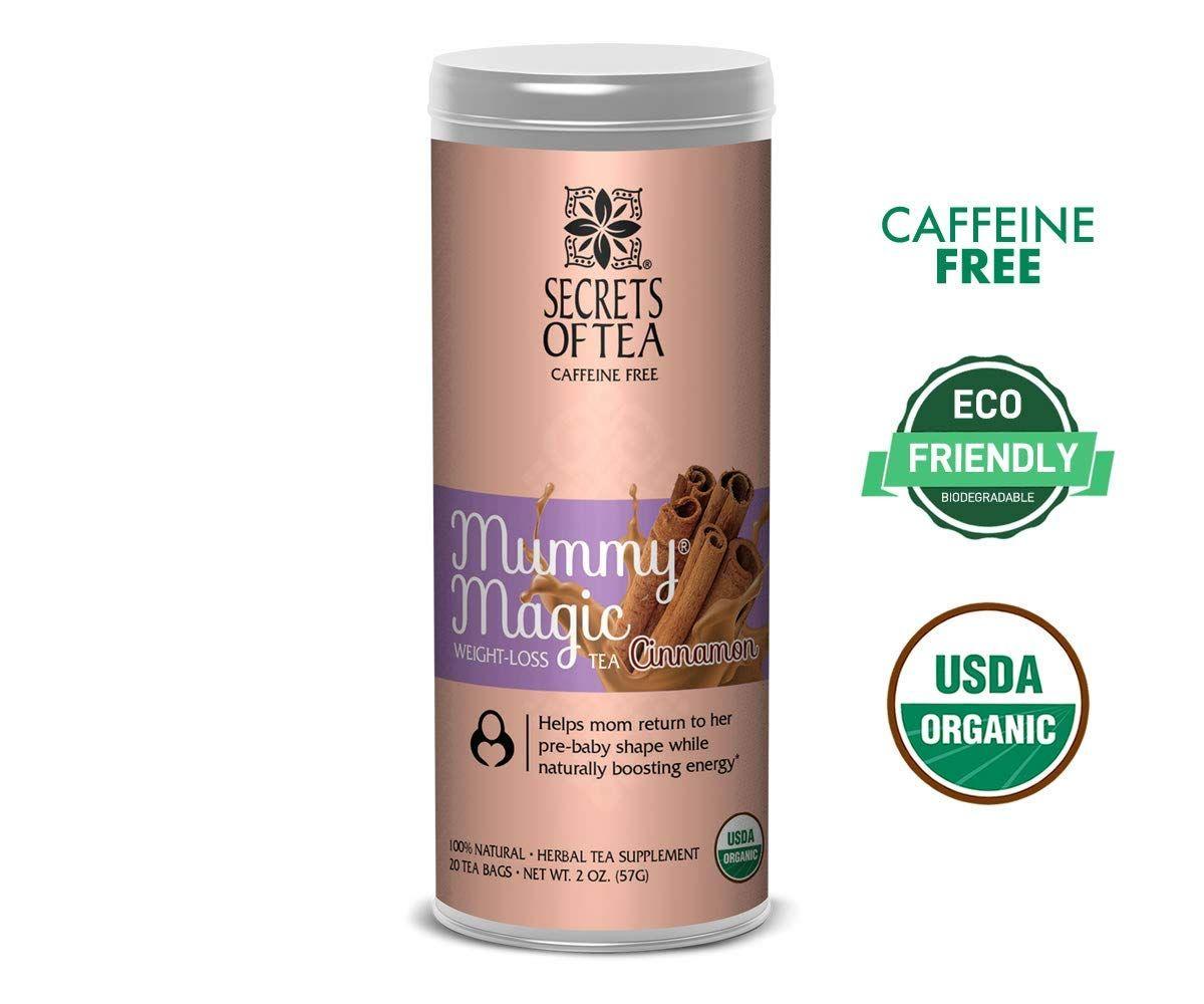 Infusión de canela con pérdida de peso Mummy Magic – Aprobado por la USDA/FDA