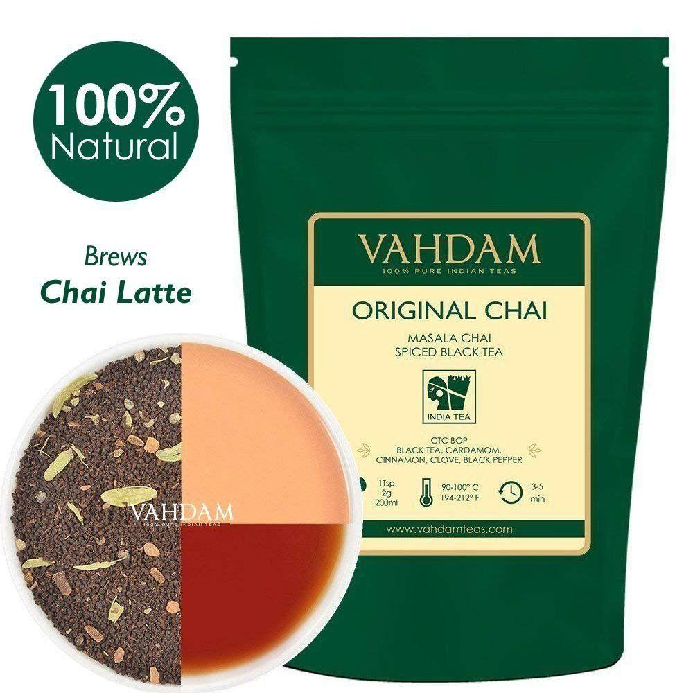 Mezcla perfecta de té negro, canela, cardamomo, clavo y pimienta negra – Receta para la antigua casa india