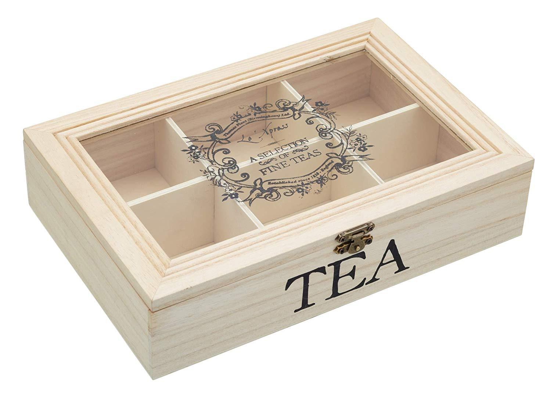 Kitchen Craft Le'Xpress – Caja para té