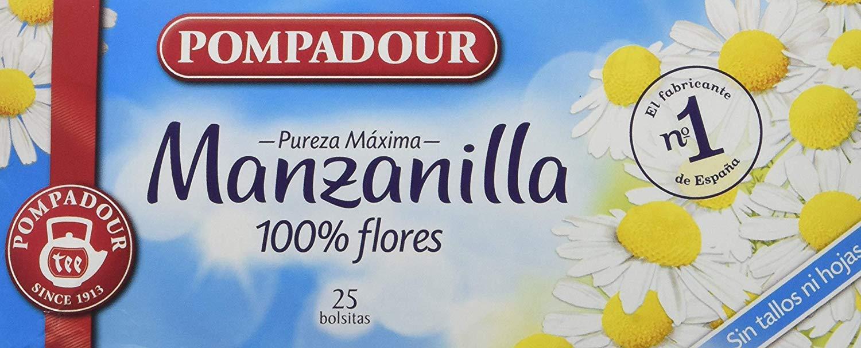 Pompadour Manzanilla 100% Flores – 27.5 g