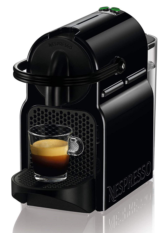De'longhi Nespresso Inissia EN80.B – Cafetera de cápsulas, depósito extraíble 0.8L, presión 19 bar