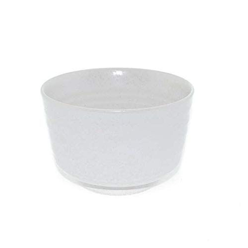 Aromas de Té – Cuenco/Bol para té Matcha Japonés Ceremonia del Té de Cerámica Blanco, 0,18 L.