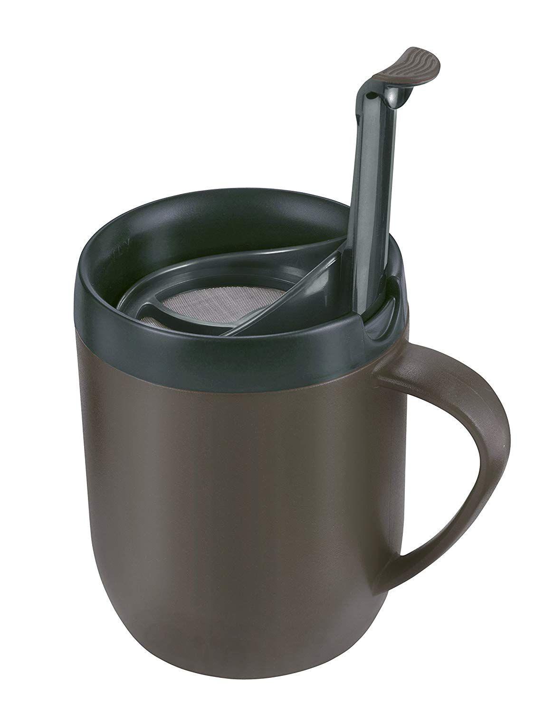 Zyliss HotMug E990001 – Taza térmica para café o té, color gris