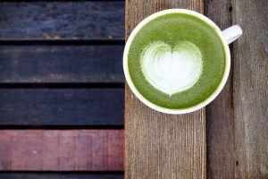 Como preparar té matcha latte