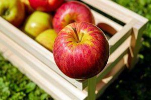 agua detox manzana