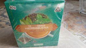 te verde con hierbabuena de mercadona