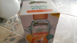 infusión fría de Hornimans para tu botella de piña mango y jengibre