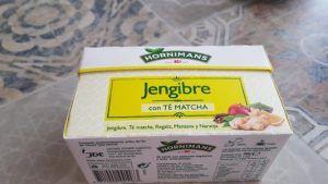 Probando Infusión de jengibre con té matcha de Hornimans