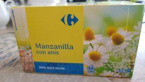 Infusión de manzanilla con anís de Carrefour